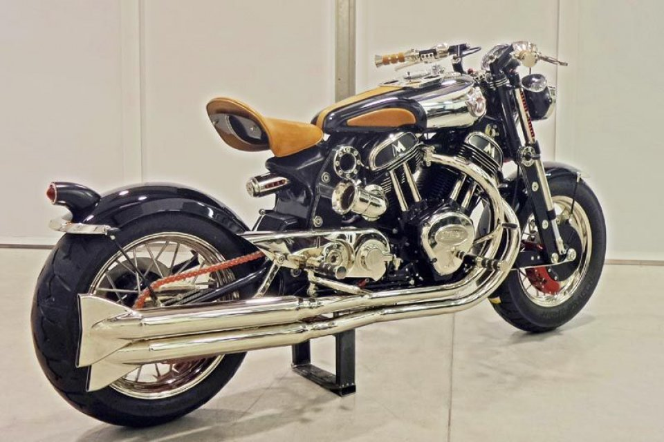 Moto - News: Matchless Model X Reloaded: eccola!