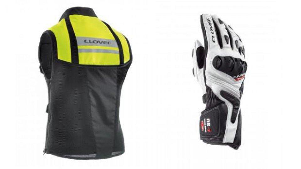 Moto - News: Clover presenta la collezione di abbigliamento tecnico 2015