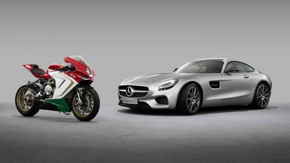 Moto - News: Mercedes-AMG e MV Agusta: accordo fatto
