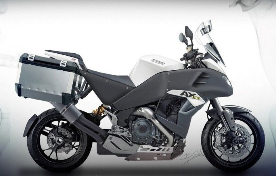 Moto - News: EBR 1190AX: arriva la maxitrail targata Buell