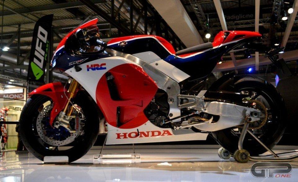 Honda risponde a Yamaha: ecco la RC213V-S