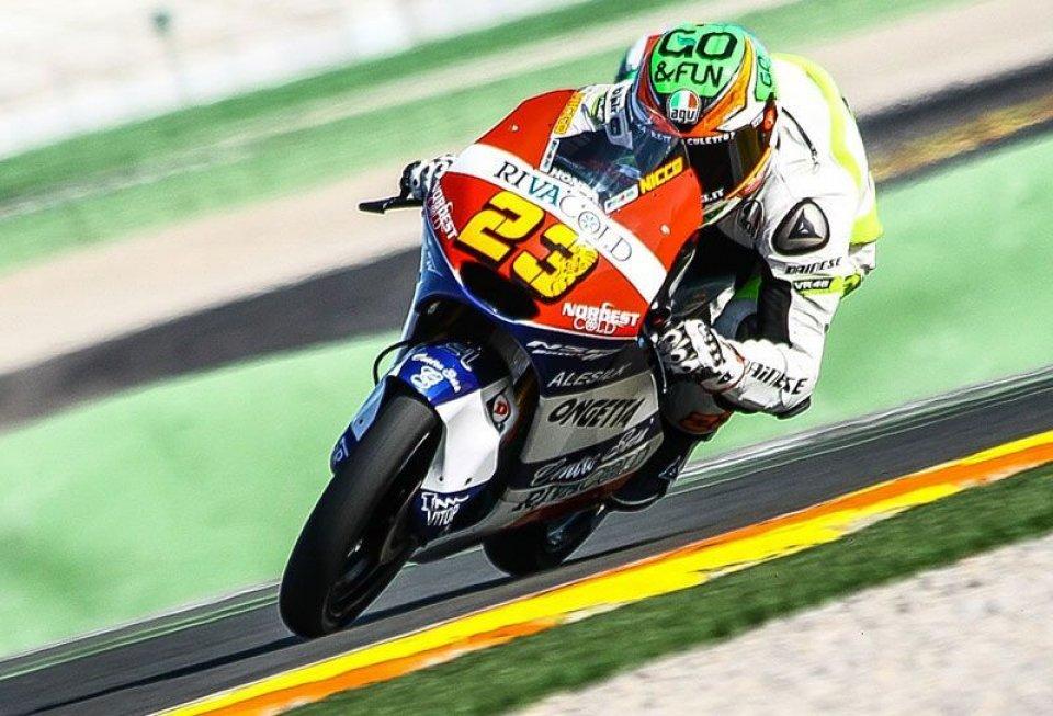 TEST. Antonelli 1° a Valencia con Honda