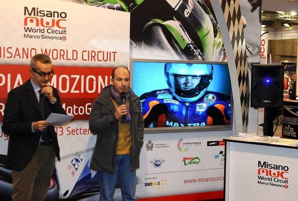"""Dainese partner del """"Marco Simoncelli"""" di Misano"""
