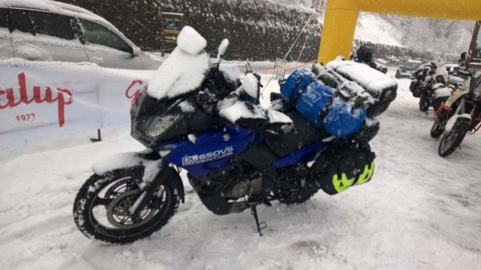 Moto - News: La Suzuki all'Agnellotreffen 2015