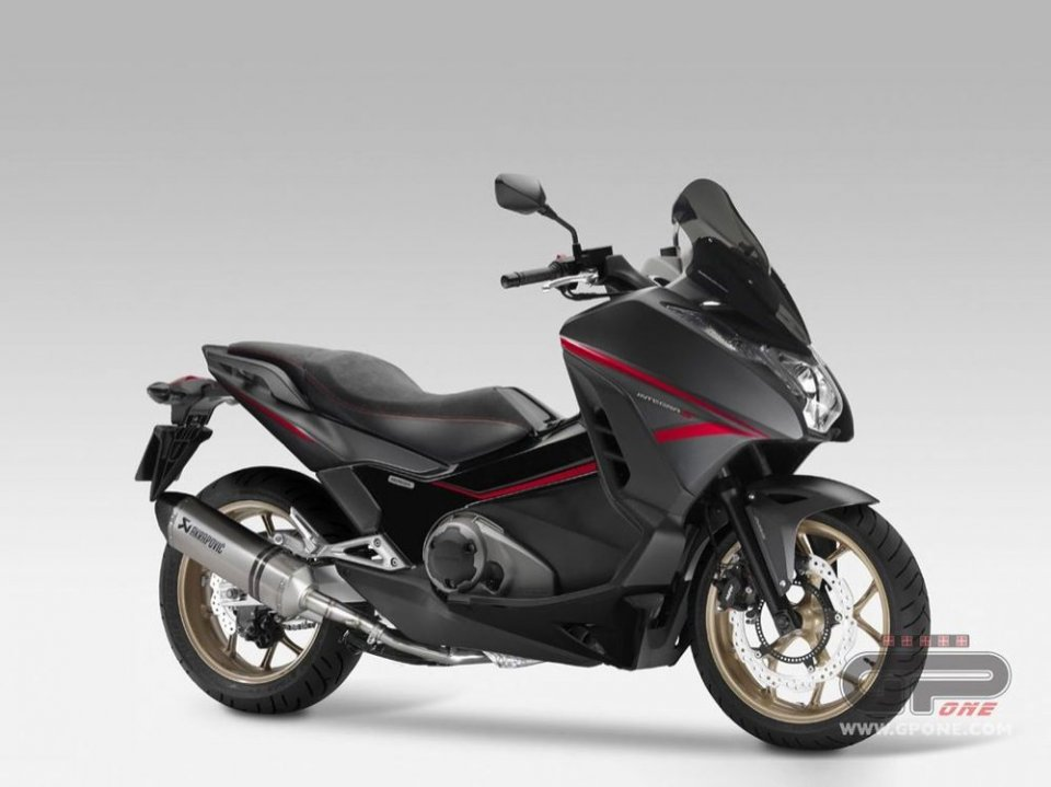 Arriva l'Honda Integra 750 Sport