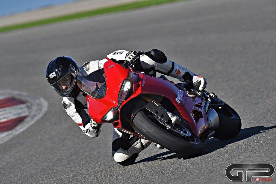 Moto - Test: Ducati 1299 Panigale: moto da Top Gun