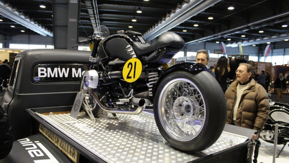 Moto - Gallery: BMW al Motor Bike Expo 2015
