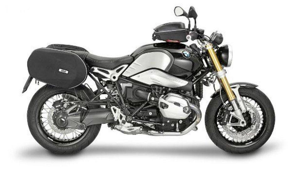 Moto - News: Givi al Motor Bike Expo 2015 con un kit per BMW R NineT