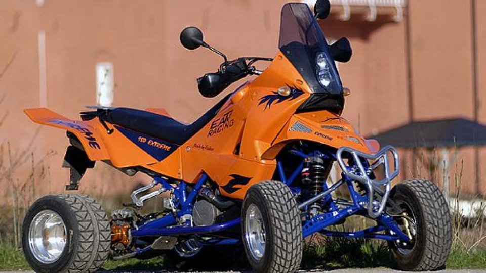 Moto - News: KTM E-ATV: dalla Germania i quad su base 990 Adventure