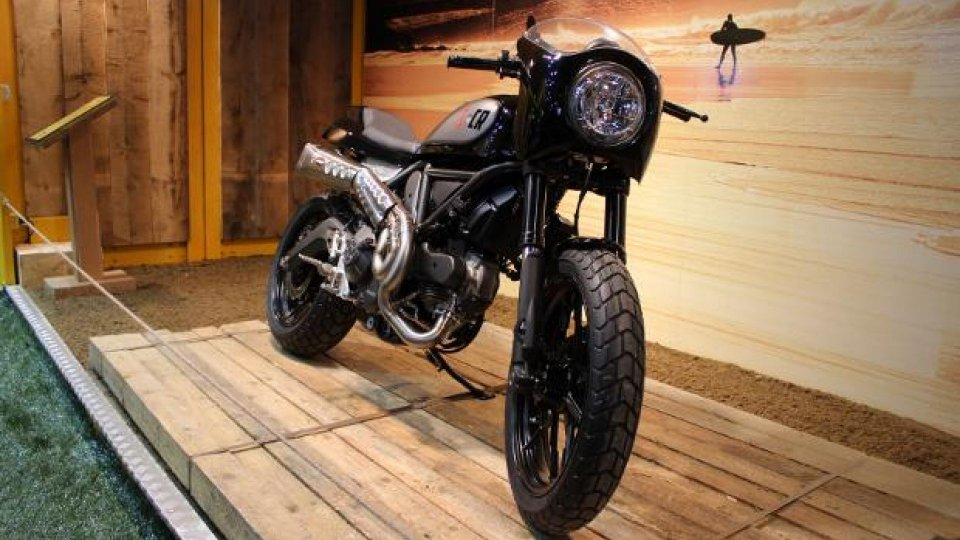 Moto - News: Speciali Ducati Scrambler al Motor Bike Expo 2015