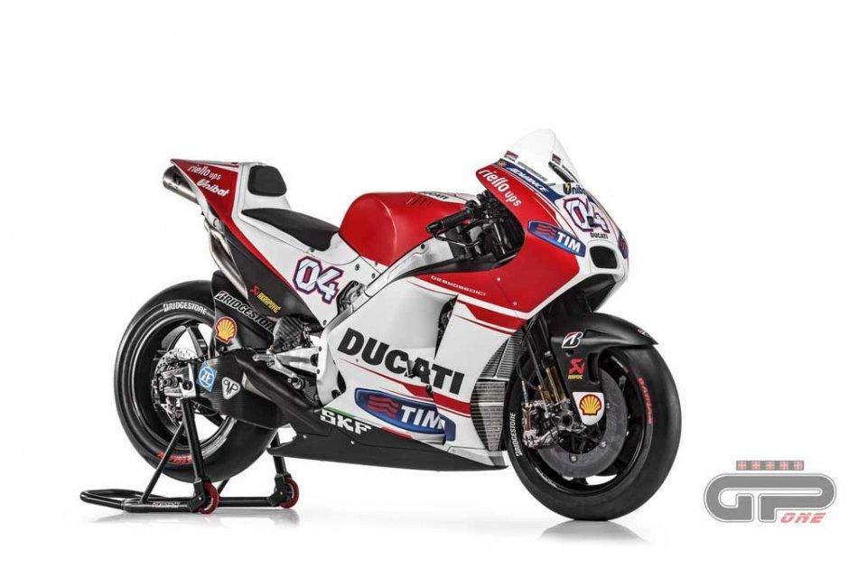 Ducati Desmosedici GP15, eccola!