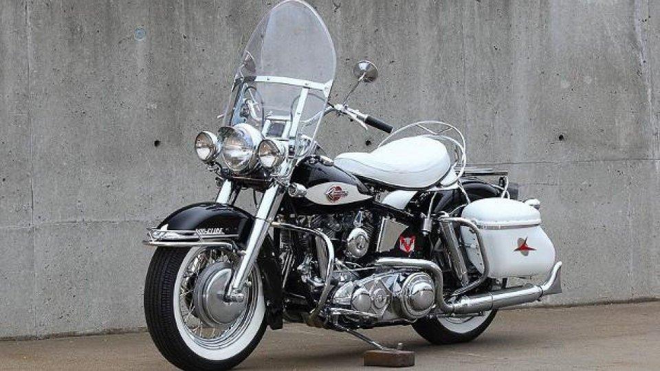Moto - News: All'asta l'Harley-Davidson di Jerry Lee Lewis per una cifra incredibile