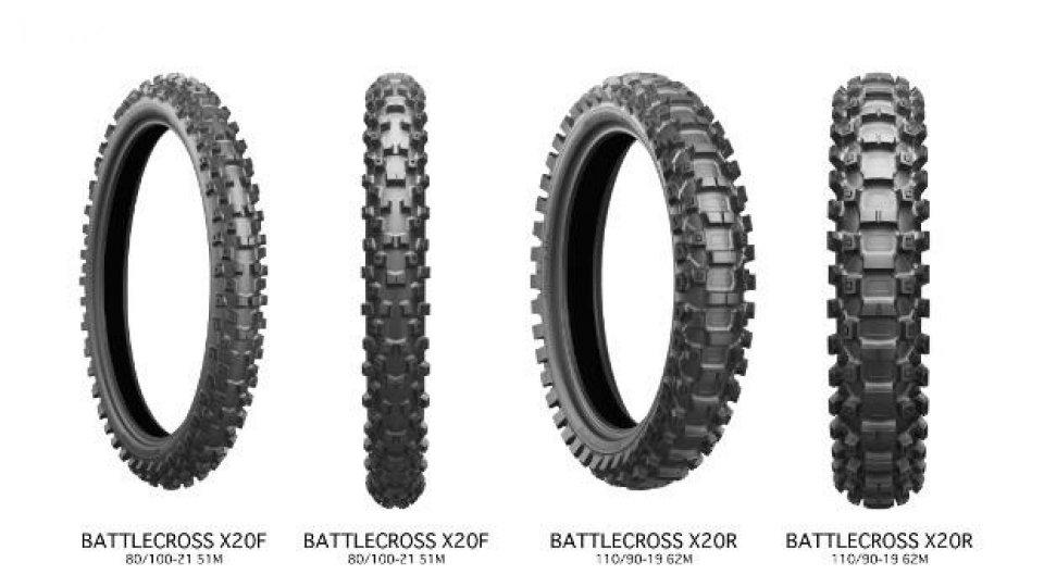 Moto - News: Nuove gomme Bridgestone BattleCross X20