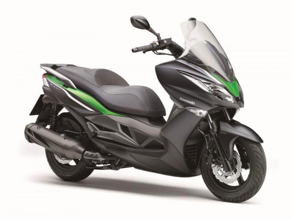 Kawasaki ha in mente un rivale per il T-Max?