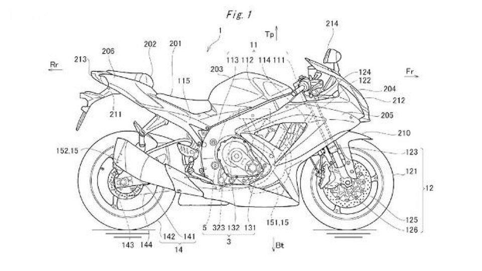 Moto - News: Suzuki GSX-R 1000 2016: avrà la fasatura variabile ed elettronica racing