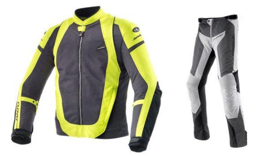 Moto - News: Clover presenta la giacca e i pantaloni Airjet 3