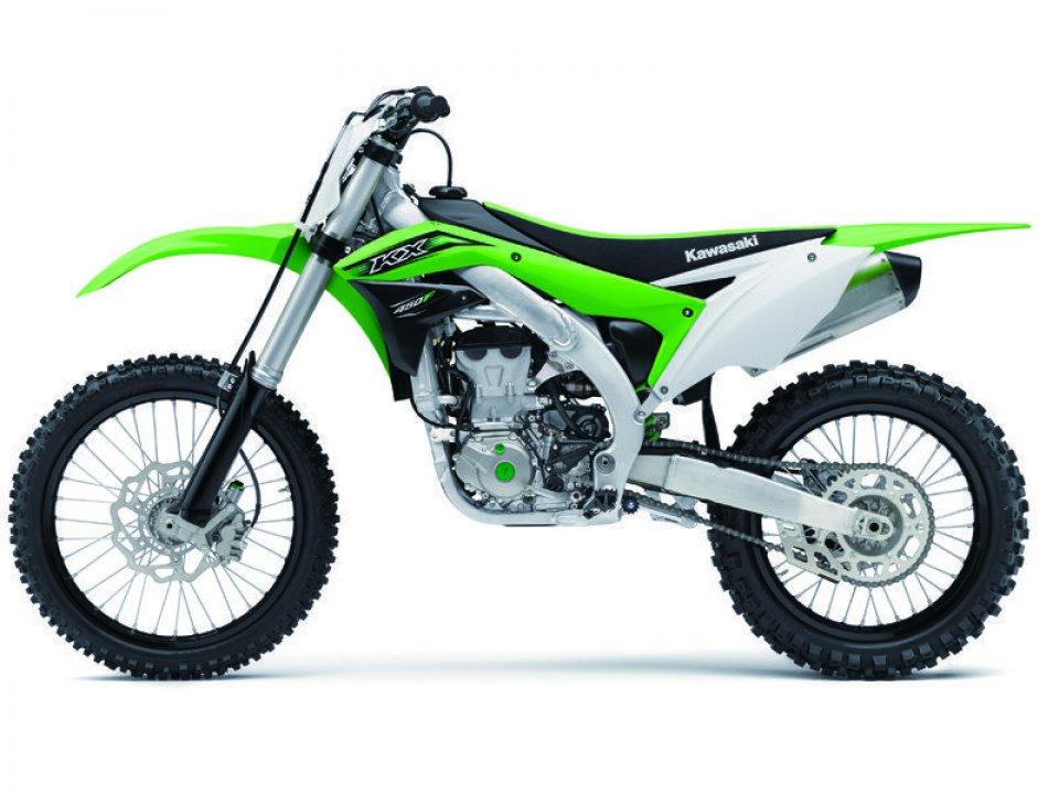 KX450F: Kawasaki rinnova la sua regina