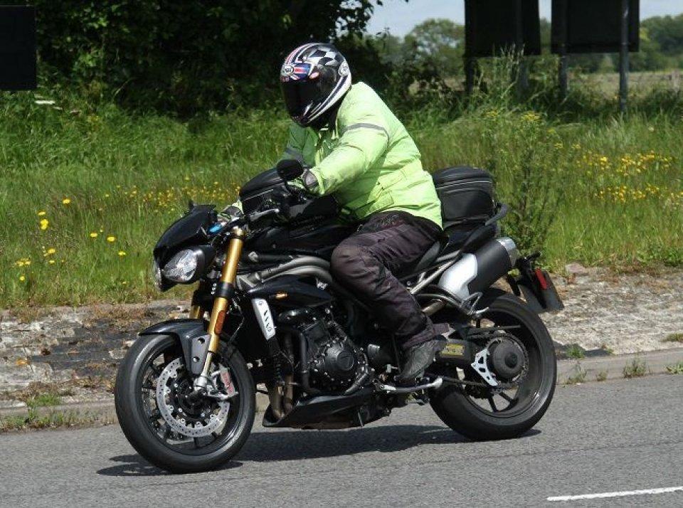 Moto - News: Triumph Speed Triple: la Nuda si evolve