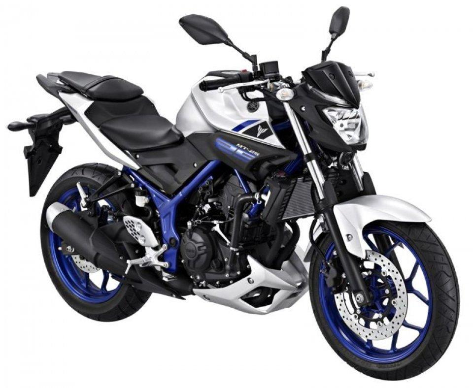 Yamaha, la MT-25 debutta sul mercato asiatico