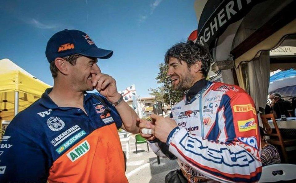 Moto - News: Checa sfida il deserto al Merzouga Rally