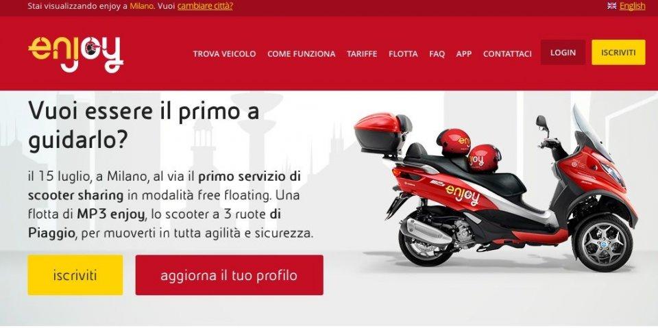 Milano da...guidare con gli MP3 Enjoy