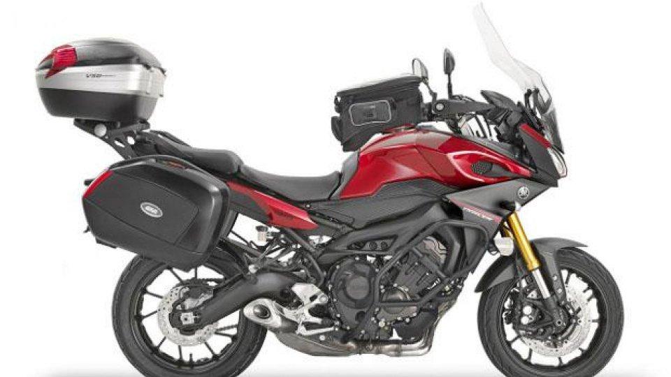 Moto - News: Givi: tre kit da viaggio per Yamaha MT-09 Tracer