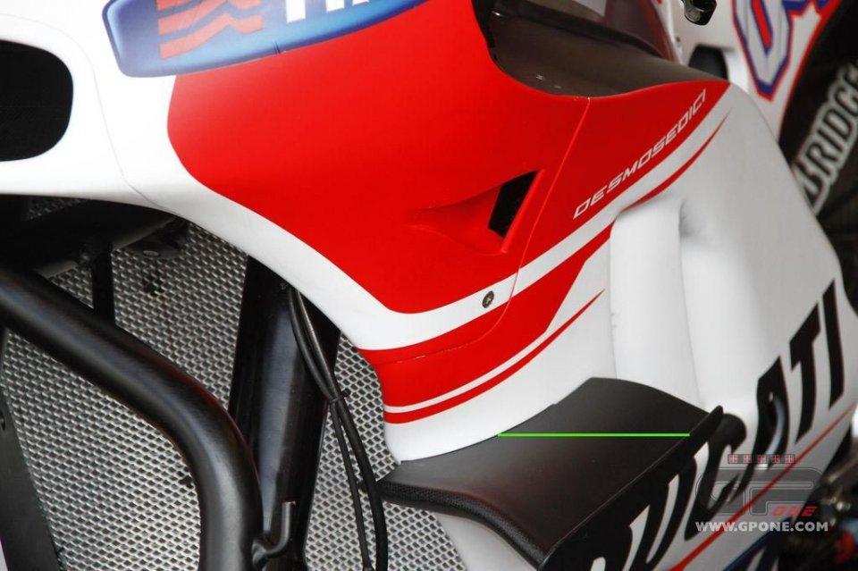 La Ducati 'a vita stretta' a Brno