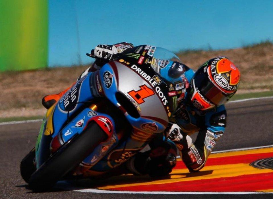 Aragon, Moto2: acuto di Rabat, pole e record