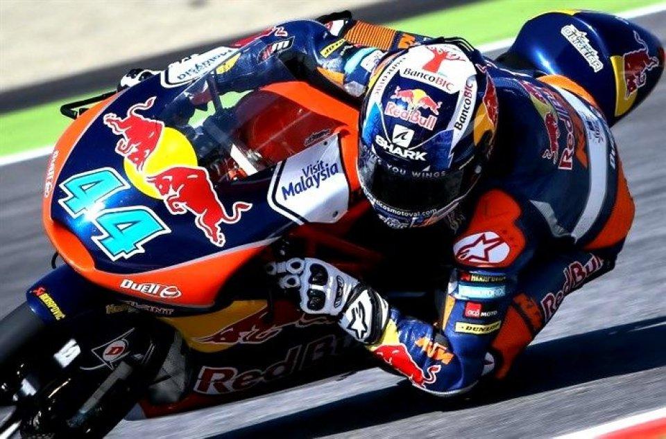 Aragon, Moto3: vince Oliveira, Fenati terzo