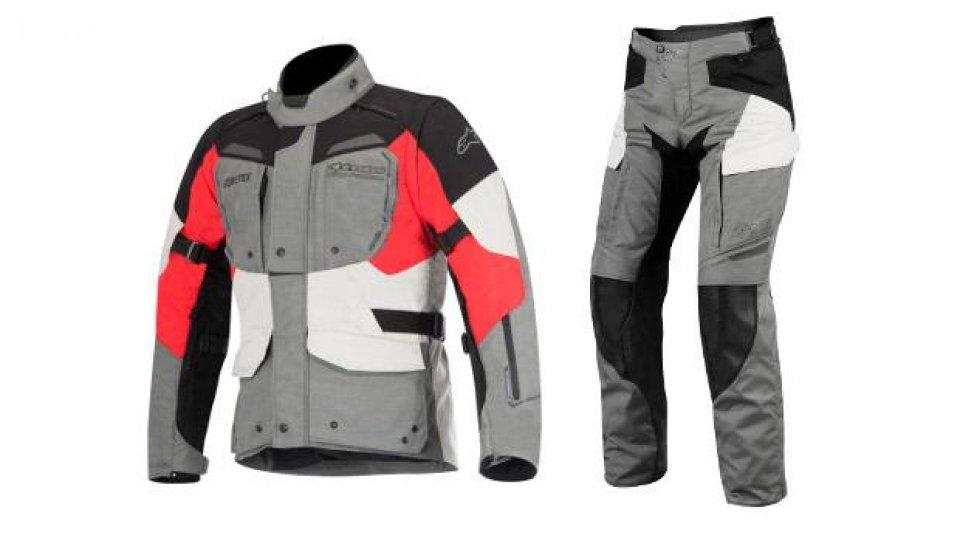 Moto - News: Alpinestars: pantalone e giacca Durban Gore-Tex
