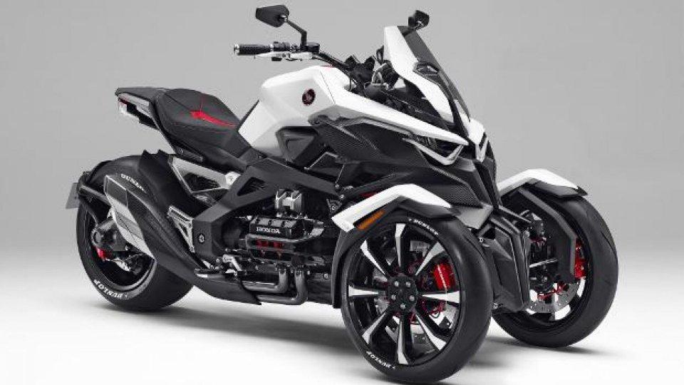 Moto - News: Honda Neowing: il primo concept a tre ruote