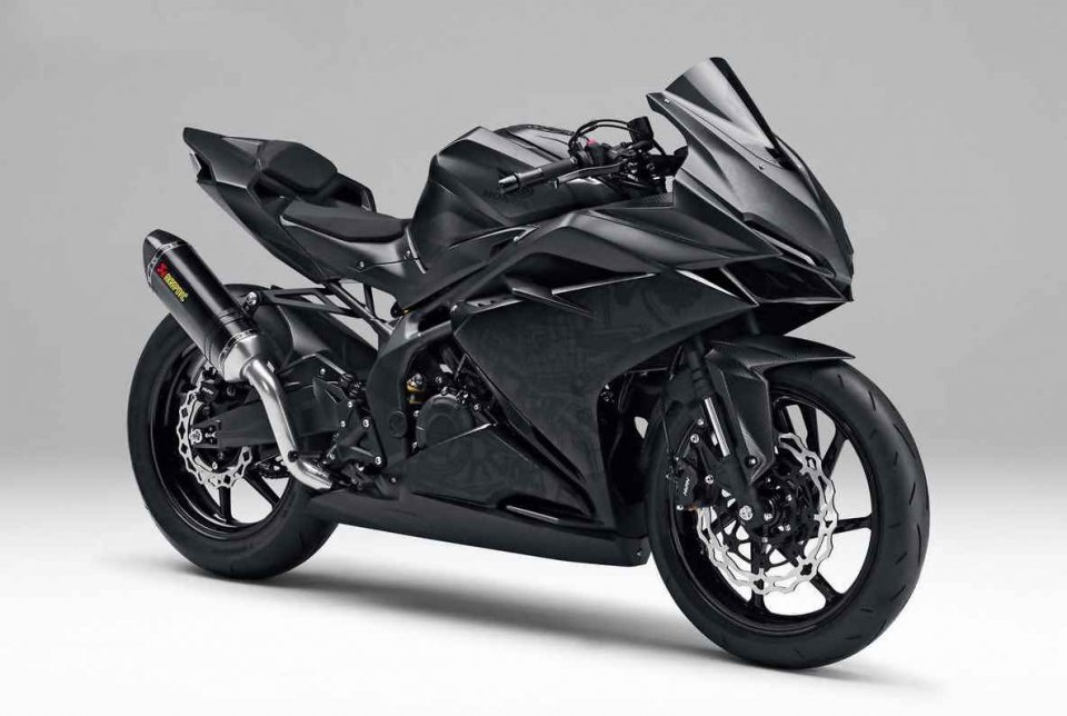 Moto - News: Honda svela una piccola SBK replica