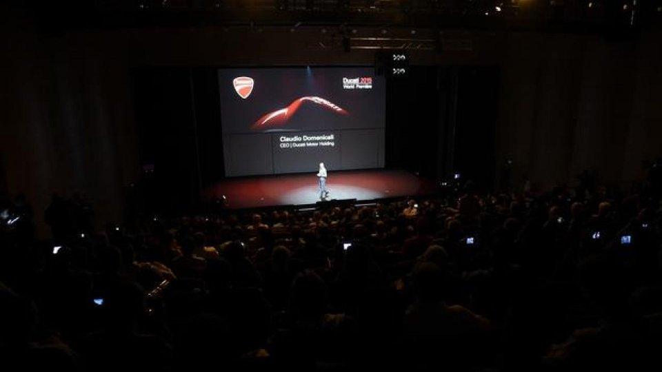 Moto - News: Ducati presenterà in live streaming le novità 2016