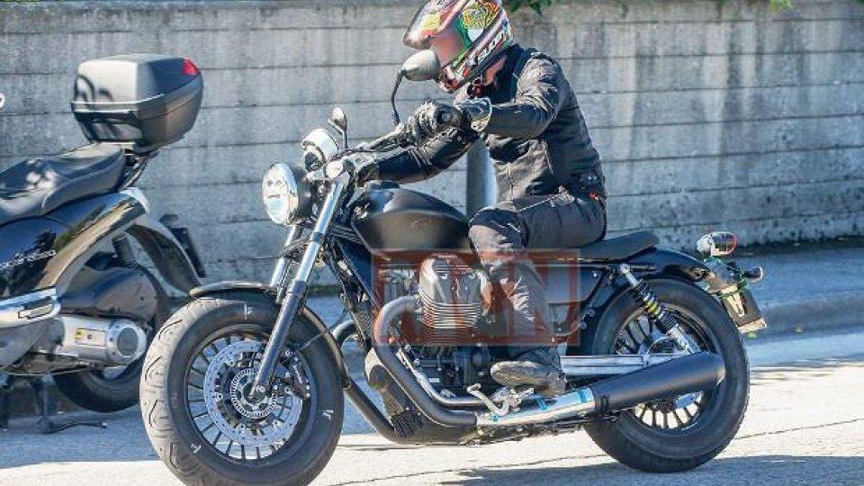 Moto - News: Moto Guzzi V7: in arrivo una custom?