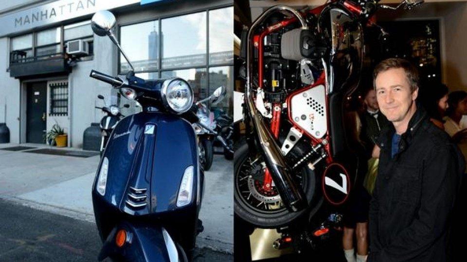 Moto - News: Piaggio: apre a New York, Vespa Manhattan