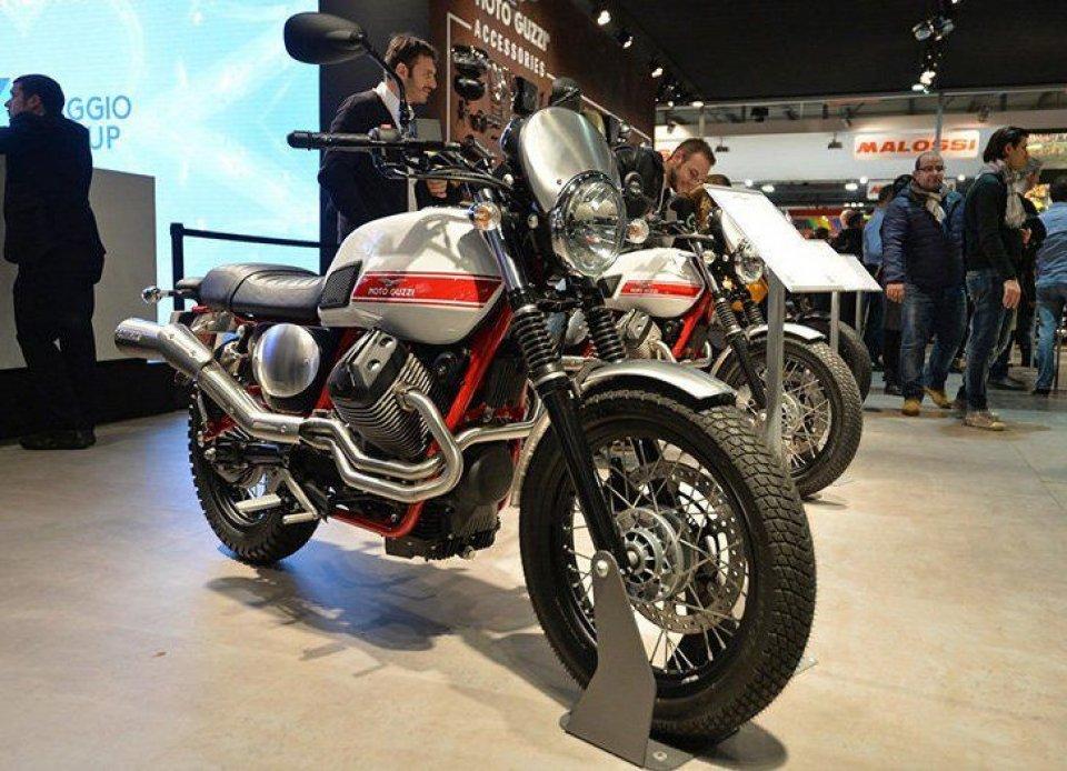Moto Guzzi, V7 II Stornello: ritorna un mito