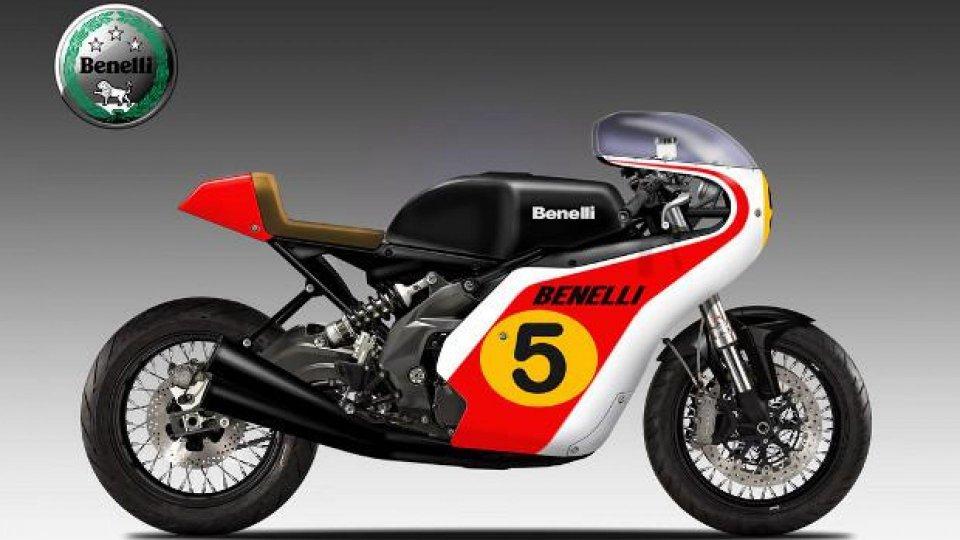 Moto - News: Benelli Jarno 604 by Oberdan Bezzi