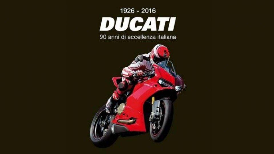 """Moto - News: Libri e moto: """"Ducati, 90 anni di eccellenza italiana"""""""