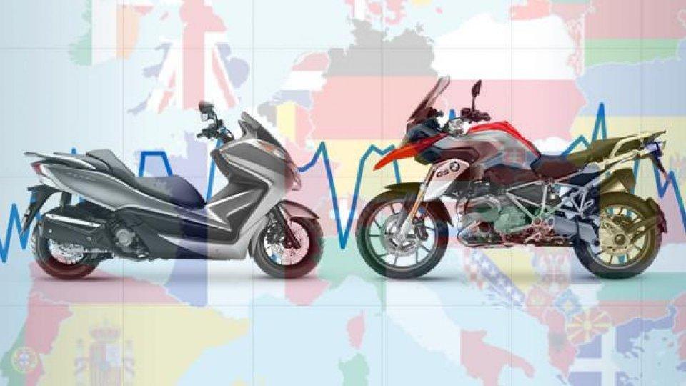 Moto - News: Mercato moto in Europa: bene tutte le nazioni, tranne la Francia