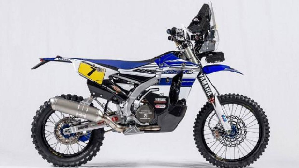 Moto - News: Yamaha WR450F Rally: la moto ufficiale della Dakar 2016 [VIDEO]