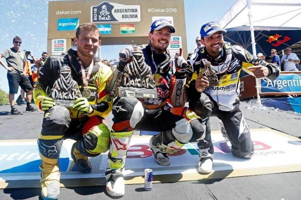 Dakar: Toby Price e la KTM trionfano alla Dakar