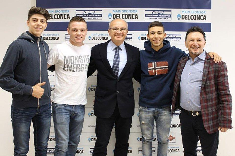 Del Conca main sponsor del team Gresini