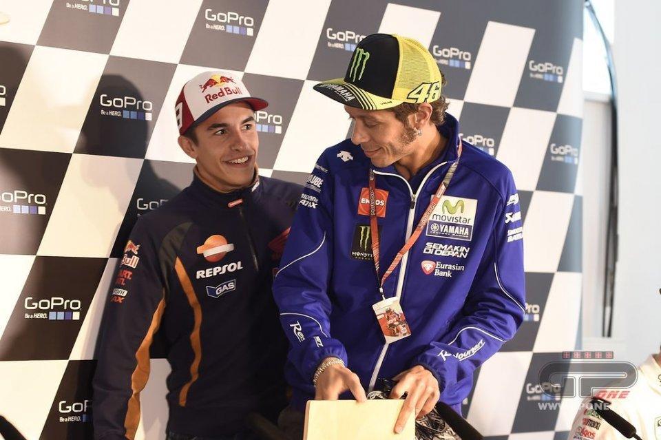 Marc e Alex Marquez lasciano la VR46 di Rossi