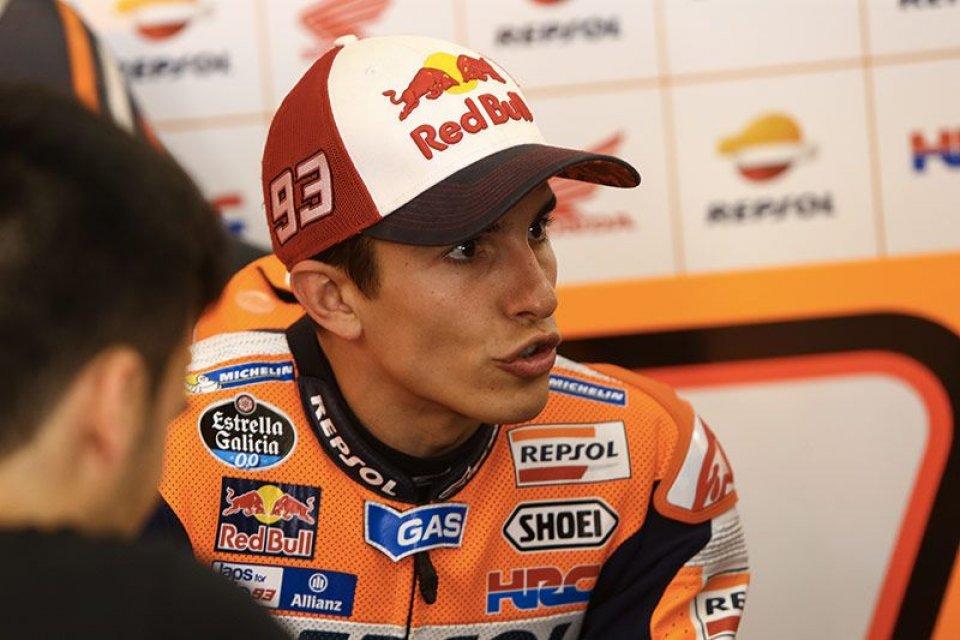 Marquez: il gap? da molto grande a grande
