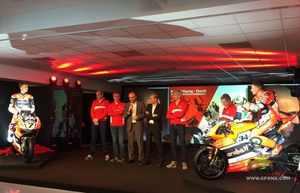 Svelata la Ducati SBK: l'obiettivo è il titolo