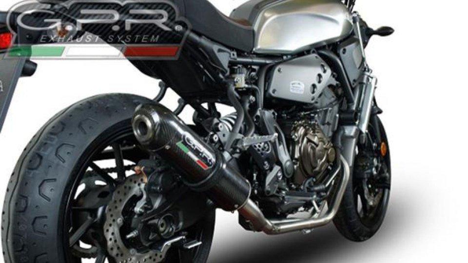 Moto - News: GPR: tre nuovi scarichi per la Yamaha XSR700