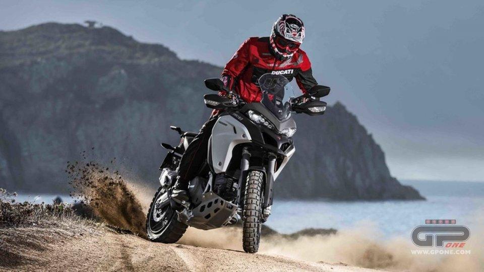 Moto - News: Ducati Multistrada Enduro: la multibike