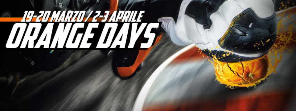 Orange Days KTM, e la primavera si tinge di arancio