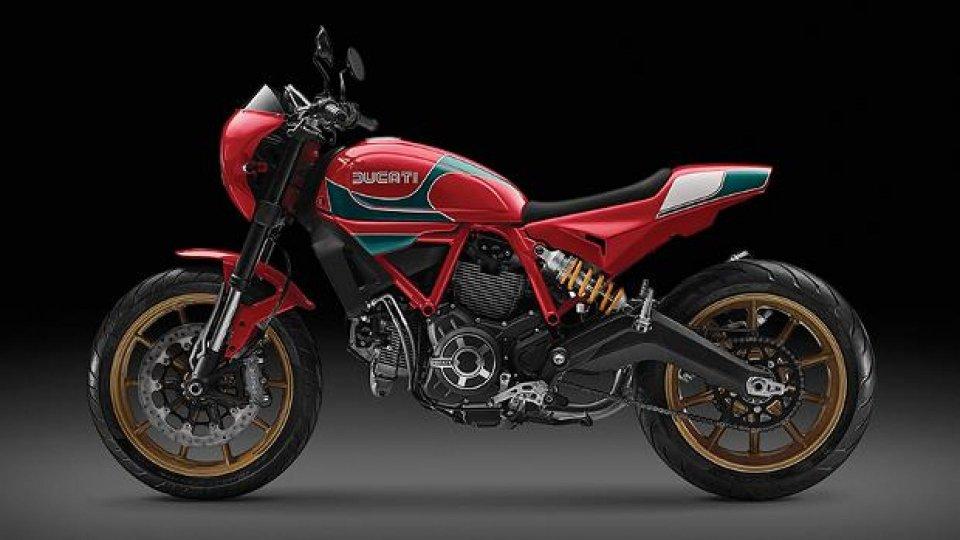 Moto - News: Ducati Scrambler Mike Hailwood Replica