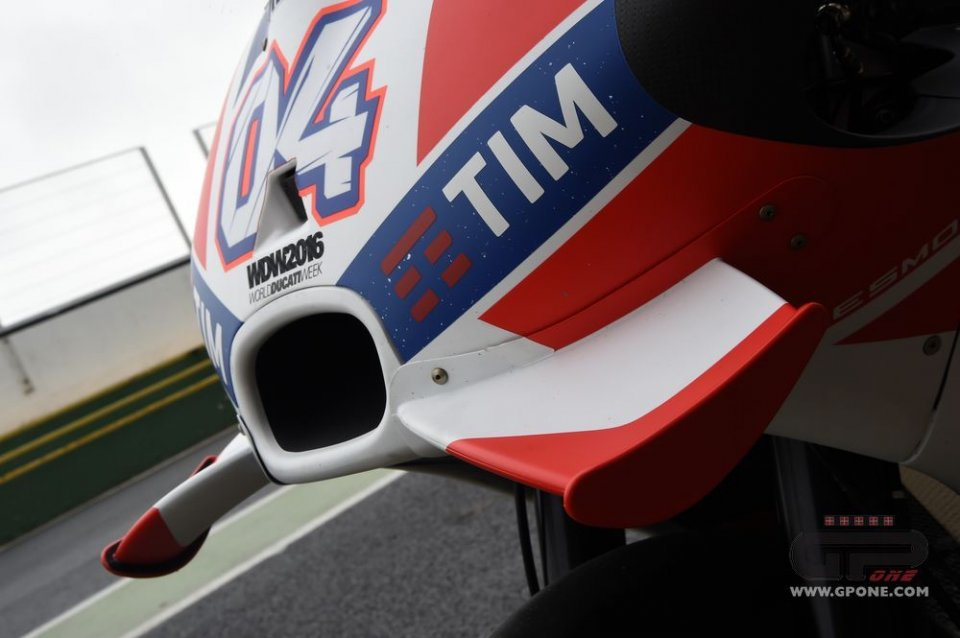 Dovizioso: limiting the wings isn't fair